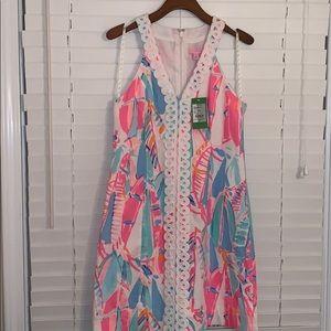 NWT Lilly Pulitzer Multi Lynn Shift Dress